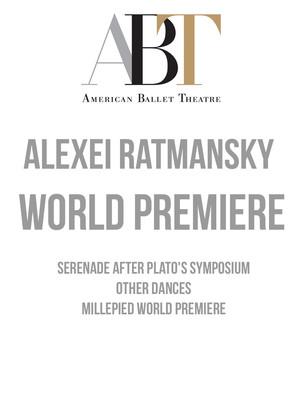 American Ballet Theatre: Alexei Ratmansky World Premiere Poster