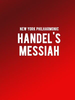 New York Philharmonic - Handel's Messiah Poster