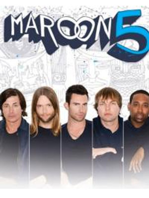 Maroon 5, Neon Trees & Owl City Poster