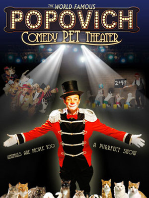 Gregory Popovich Comedy Pet Theater Poster