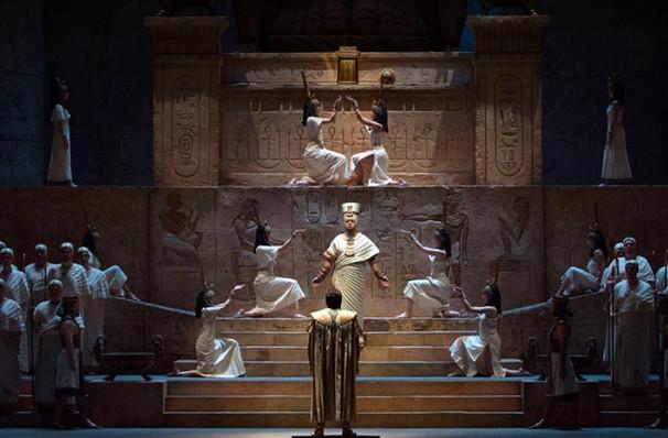 Metropolitan Opera Aida, Metropolitan Opera House, New York