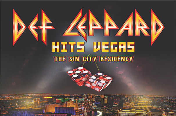 Def Leppard, Zappos Theater at Planet Hollywood, Las Vegas
