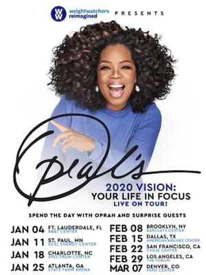 Oprah Winfrey at Barclays Center