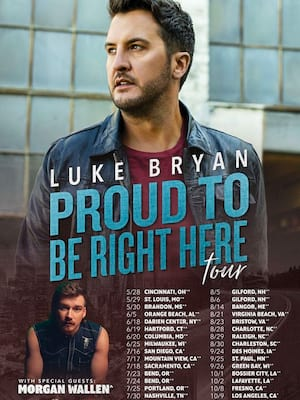 Luke Bryan, Constellation Brands Performing Arts Center, Rochester