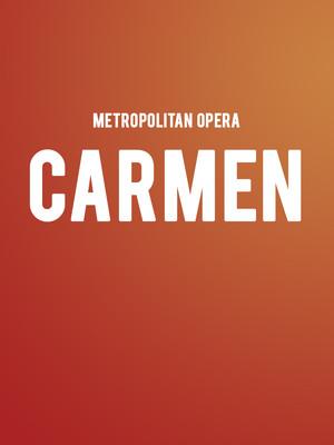 Metropolitan Opera - Carmen at Metropolitan Opera House
