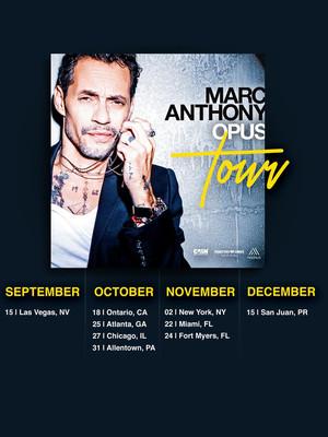 Marc Anthony, Valley View Casino Center, San Diego
