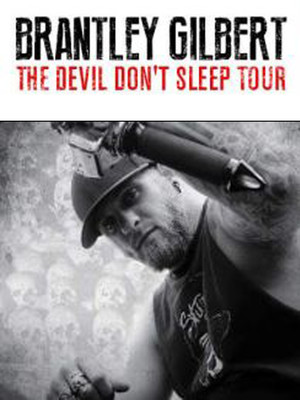 Brantley Gilbert at DTE Energy Music Center