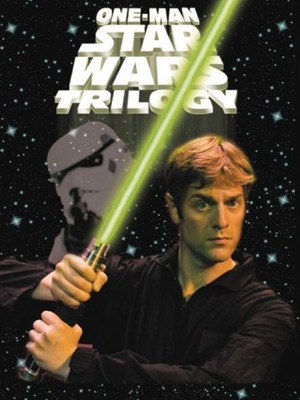 One Man Star Wars Trilogy Poster