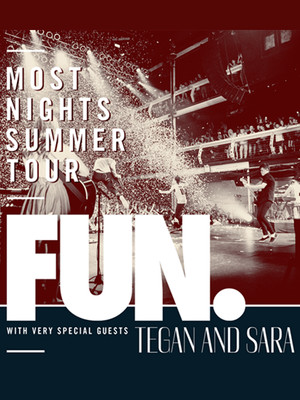 Fun. & Tegan And Sara Poster