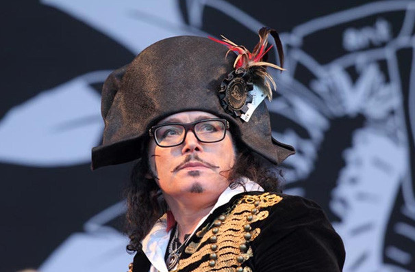 Adam Ant, Capitol Theatre, Salt Lake City
