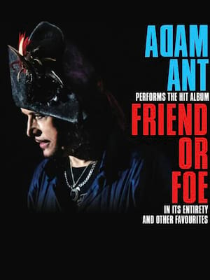Adam Ant at Fox Theatre Oakland