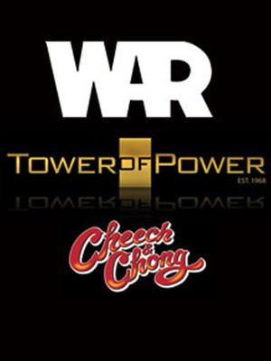 WAR, Tower of Power & Cheech & Chong Poster