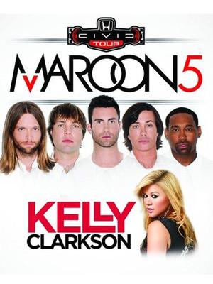 Honda Civic Tour: Maroon 5, Kelly Clarkson & Rozzi Crane at Nikon