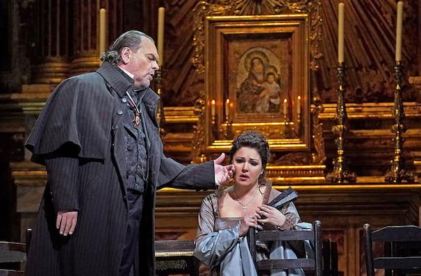Metropolitan Opera Tosca, Metropolitan Opera House, New York