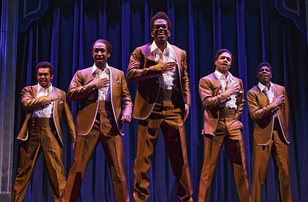 Motown The Musical, Moran Theater, Jacksonville