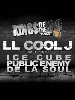 Kings Of The Mic: LL Cool J, Ice Cube & Public Enemy Poster