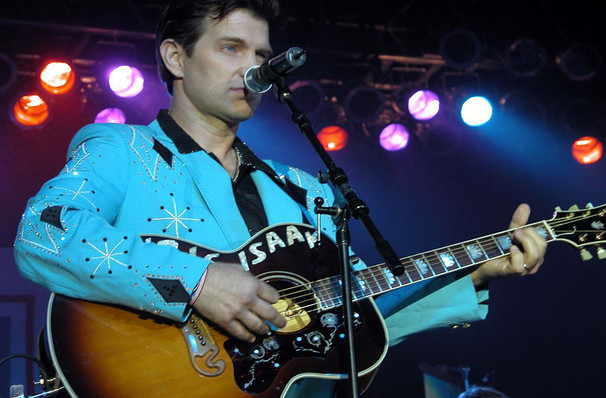 Chris Isaak, Carolina Theatre Fletcher Hall, Durham