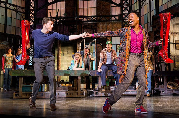 Kinky Boots Pantages Theater Hollywood Los Angeles Ca
