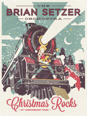 Brian Setzer Orchestra at Fox Theatre
