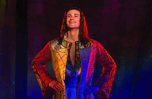 Joseph and the amazing technicolor dreamcoat merriam for Farcical humour in joseph andrews