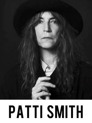 Patti Smith, Northrop Auditorium, Minneapolis