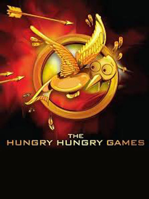 The Hungry Hungry Games: A Parody Poster