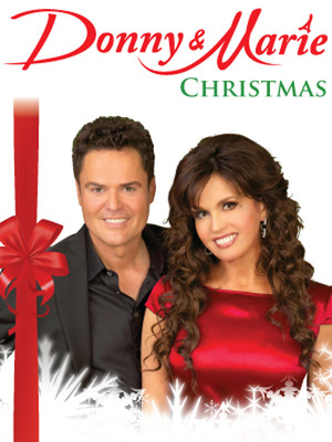 Donny and Marie - Christmas Tour Poster