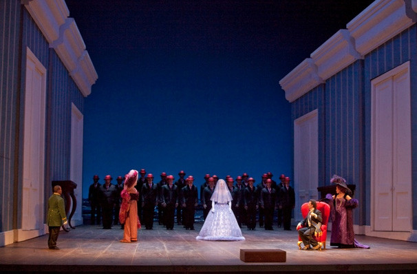 Metropolitan Opera La Cenerentola, Metropolitan Opera House, New York