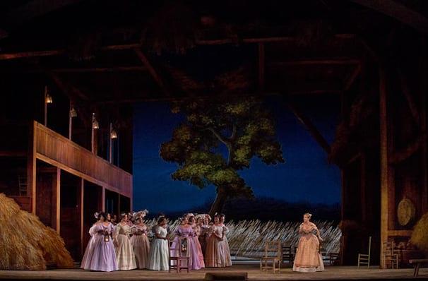 Metropolitan Opera LElisir dAmore, Metropolitan Opera House, New York