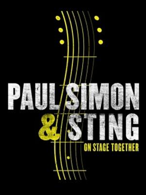 Sting & Paul Simon at Madison Square Garden