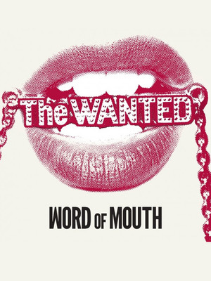 The Wanted - Word of Mouth Tour Poster