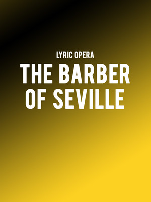 The Barber Of Seville Poster