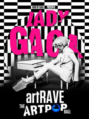 Lady Gaga: Artrave The Artpop Ball Poster