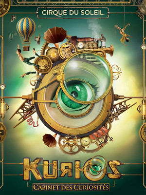 Cirque du Soleil Kurios, Grand Chapiteau at Expo Center, Portland