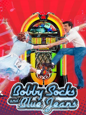 Bobby Socks And Blue Jeans Poster