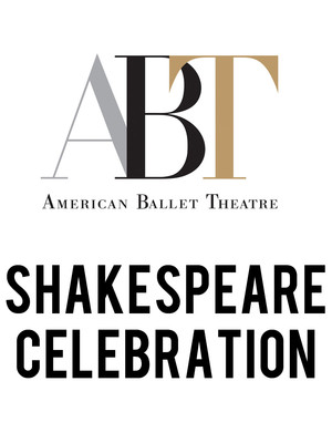 American Ballet Theatre: Shakespeare Celebration Poster