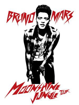 Bruno Mars & Pharrell Williams at Madison Square Garden