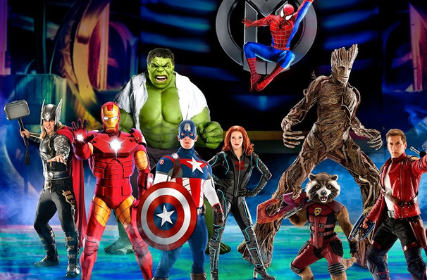 Marvel Universe Live, Schottenstein Center, Columbus