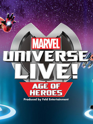 Marvel Universe Live, Golden 1 Center, Sacramento
