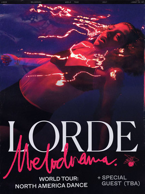 Lorde at Golden 1 Center