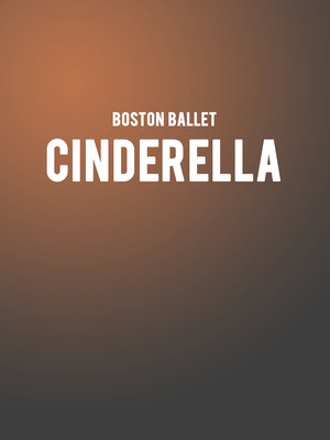 Boston Ballet Cinderella, Boston Opera House, Boston