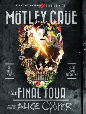Motley Crue & Alice Cooper Poster