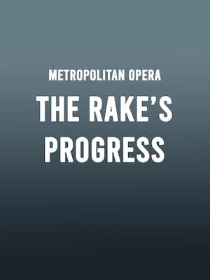Metropolitan Opera: The Rake's Progress Poster