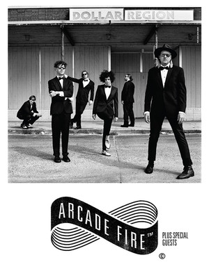Arcade Fire, Red Hat Amphitheater, Raleigh