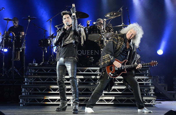 Catch Queen & Adam Lambert it's not here long!