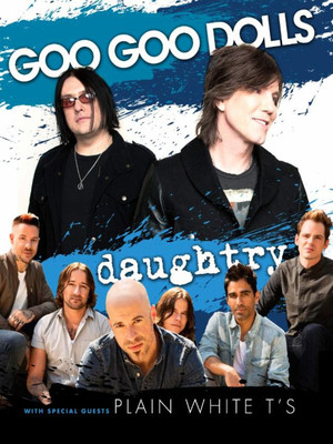 The Goo Goo Dolls, Daughtry & Plain White T's at Bethel Woods Center For The Arts