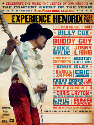 Experience Hendrix at Luther Burbank Center for the Arts