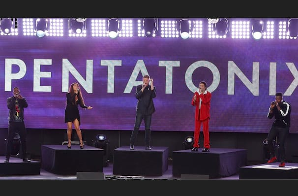 Pentatonix's whistlestop visit to New Brunswick