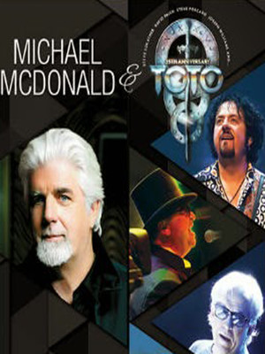 Michael McDonald & Toto Poster