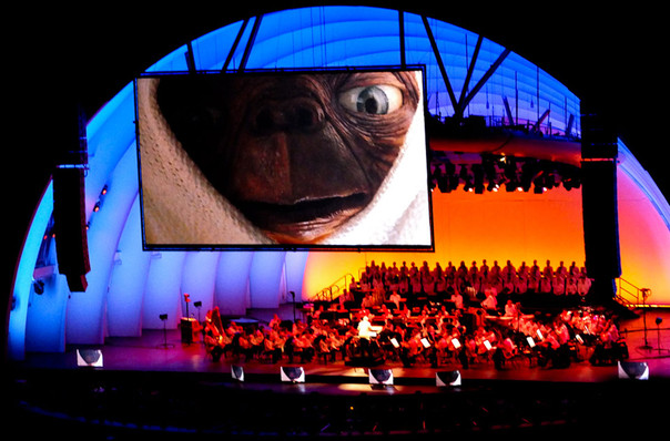 Los Angeles Philharmonic John Williams, Hollywood Bowl, Los Angeles